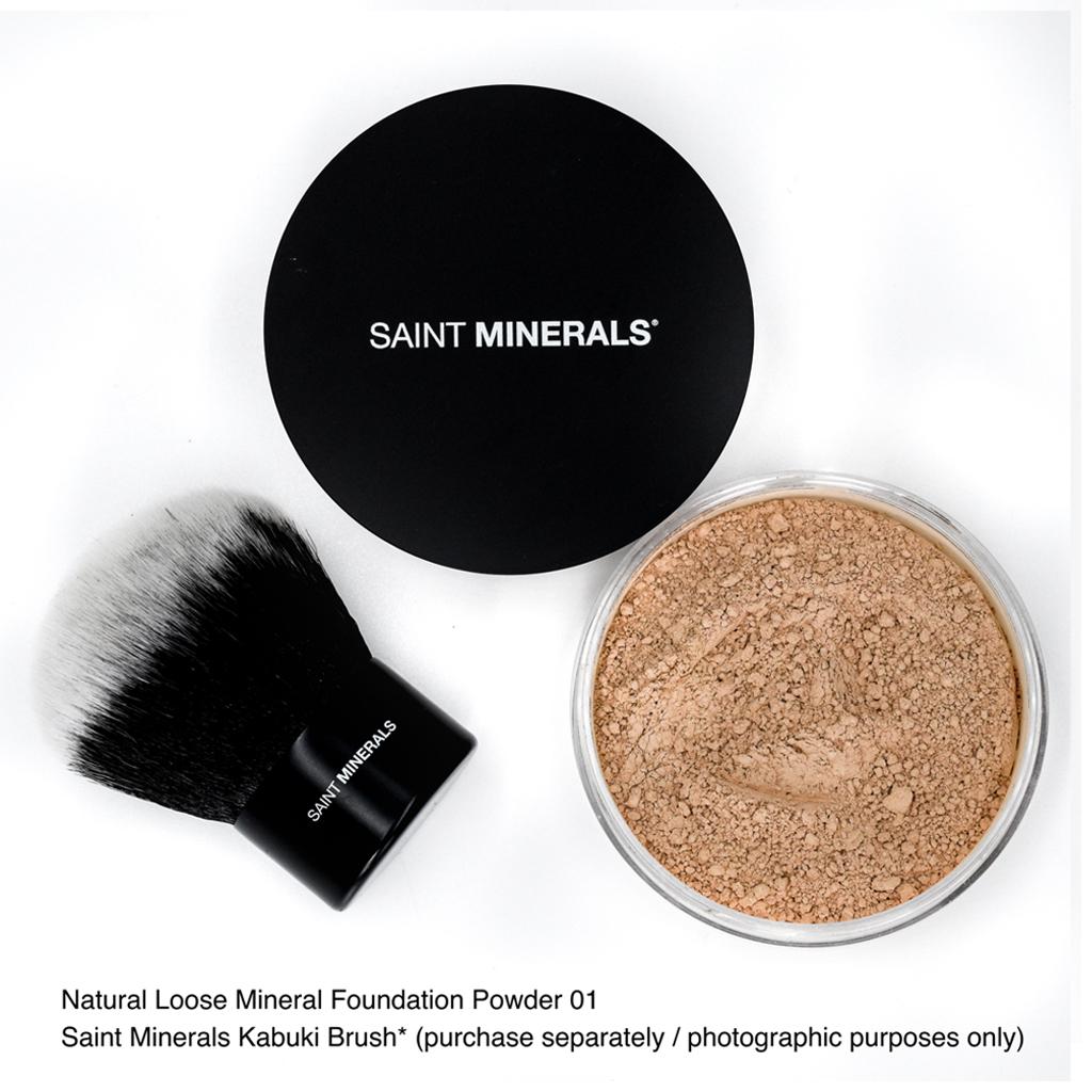 natural loose mineral powder