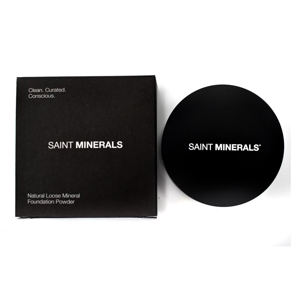 natural loose mineral powder foundation packaging